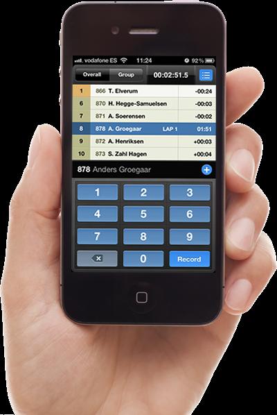 RaceSplitter - Race and split timer for the iPhone, iPod